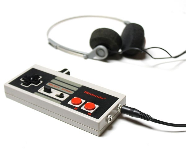 Headphone Amp in an NES Controller!
