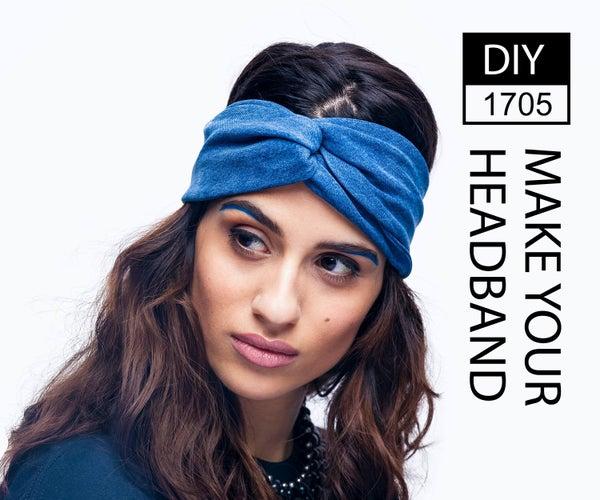DIY1705 - MAKE YOUR HEADBAND