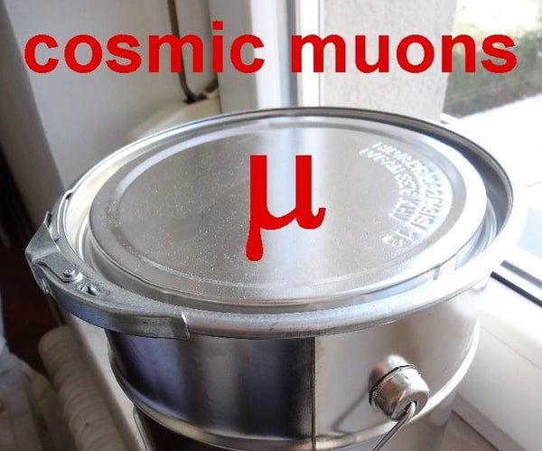Detecting Cosmic Muons in a Simple Can