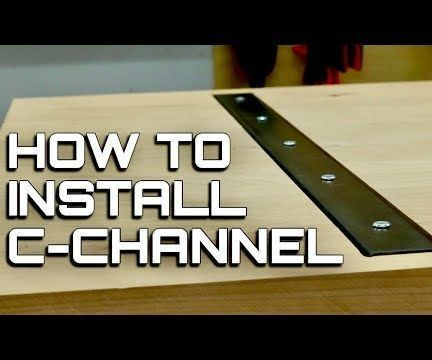 C Channel in Table Tops and Desk Tops