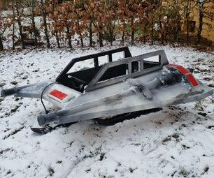 STARWARS - SNOWSPEEDER - SLED