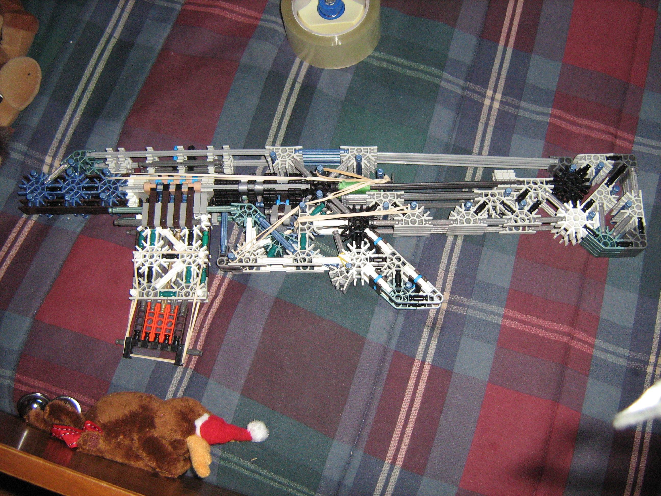 XM8 / FN SCAR Knex Gun