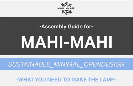 How to Make the Body/lid of MAHI-MAHI