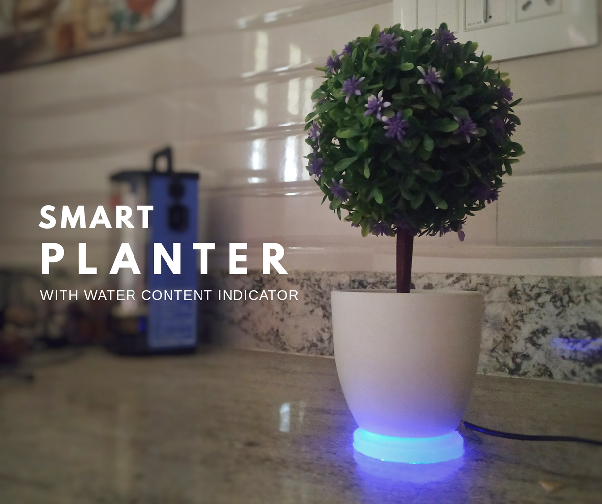Smart Planter - Indicates Water Level