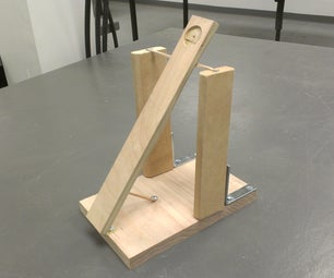 30 Minute Desk Catapult (I made it at TechShop)
