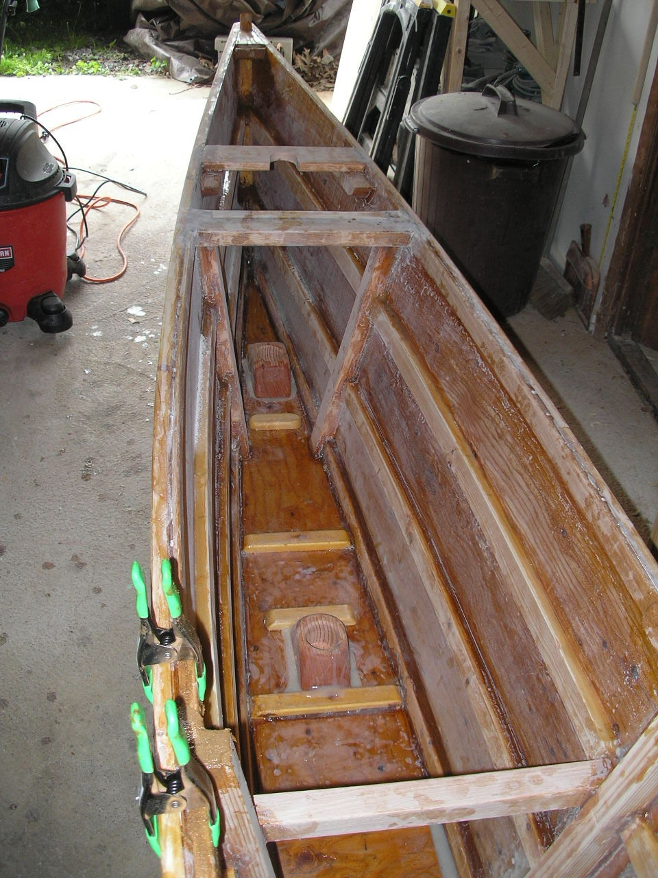 Building the Real Canoe Hull (Vaka)