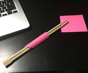 Facil Sujetador De Palitos Chinos / Easy Chopsticks Post-it Holder