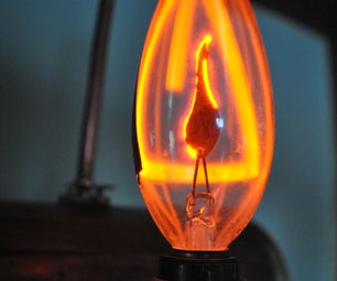 High Voltage Steampunk Plasma Night Light