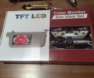 "My Source of 7"" LCD Display ( New & Cheap LCD SUN VISOR )"