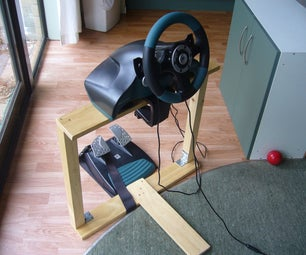Xbox/PS2 Steering Wheel Stand
