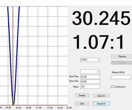 Arduino Nano HF Antenna Sweeper