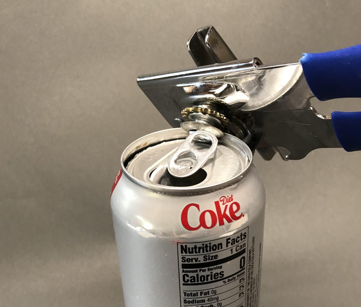 Cut Out the Top of the Coke Can