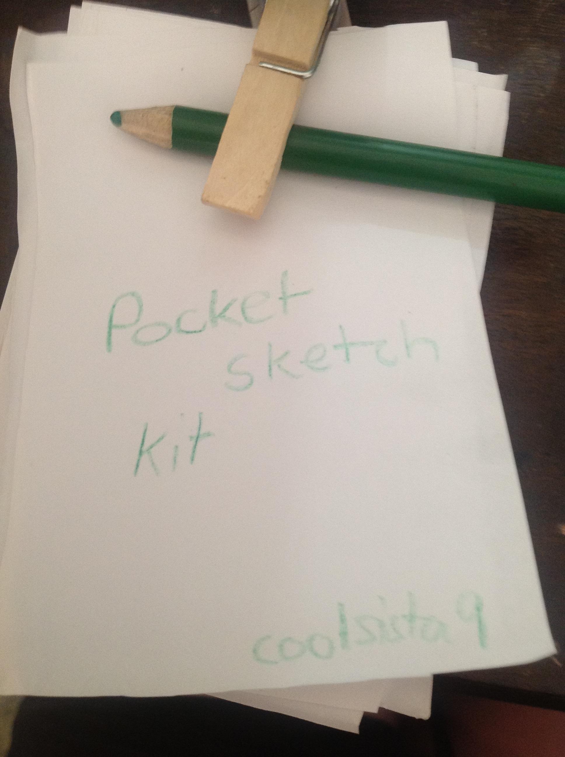 How To Make A Pocket Sketch Kit