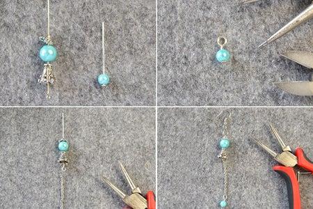 How to Make the Elegant Pearl Earrings:
