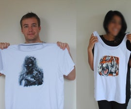 Hand Painted T-shirts.