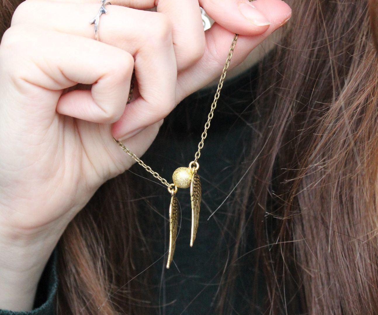 Snitch Necklace Video Tutorial