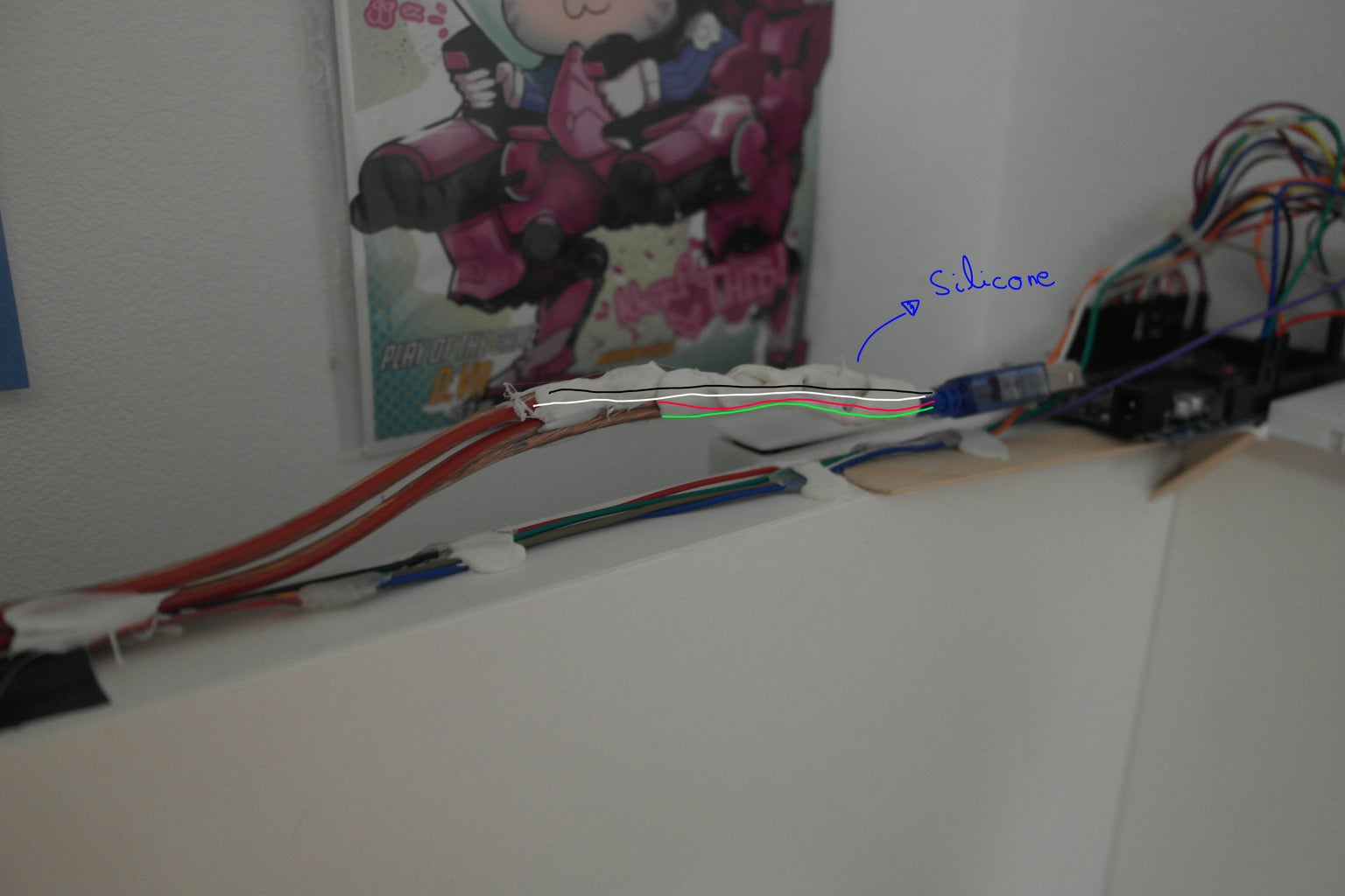 Lengthen the Arduino Cable and It Is DONE!!!!