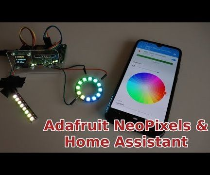 Use Adafruit NeoPixels With Home Assistant