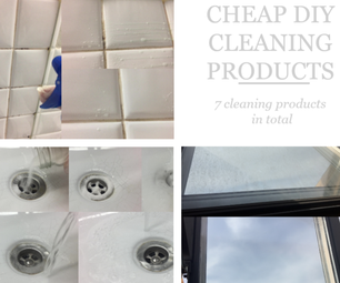 Cheap DIY Cleaning Products