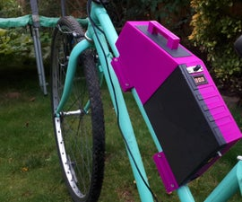 DIY Electric Bike Battery Box With Card Access