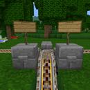 Minecraft  Mine-cart Manual Track Switch