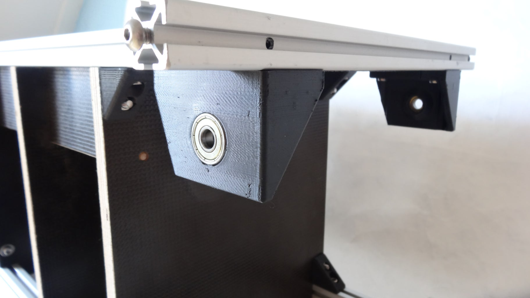 Connect the Second Stage to the Wooden Box/ Install the Pusher Motors