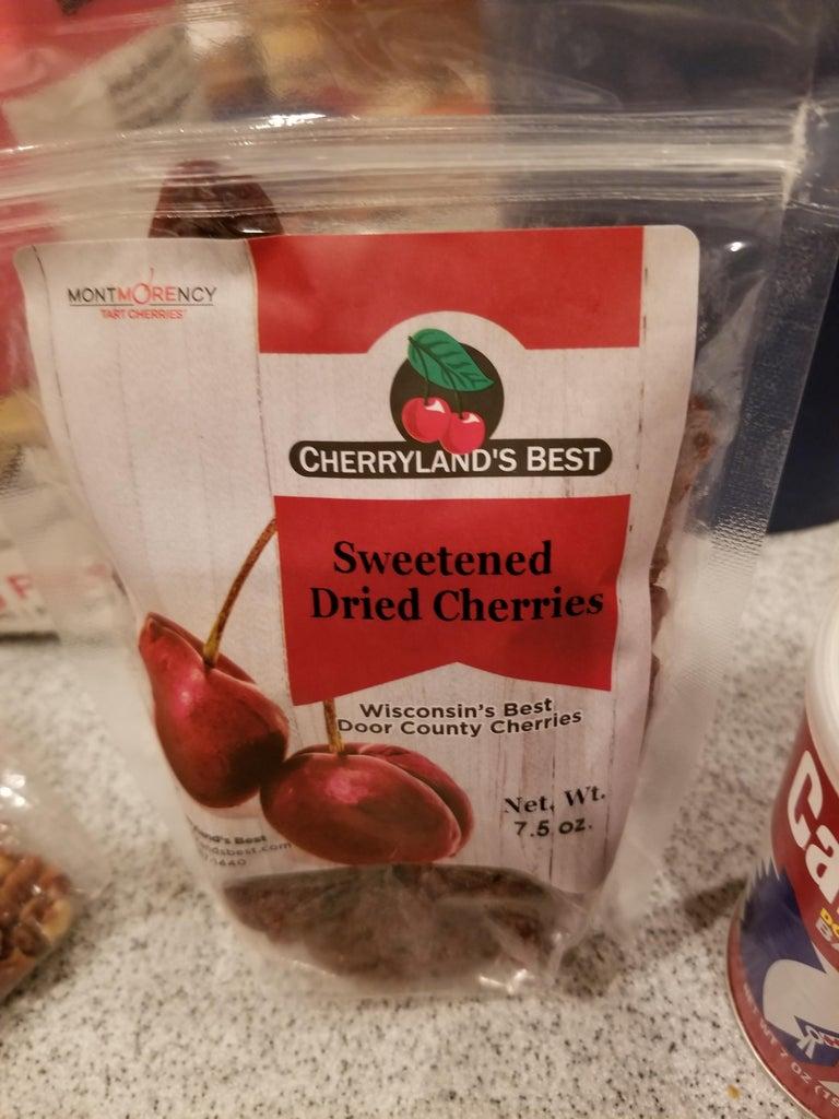 Door County Cherry Cream Cheese Pecan Cookies