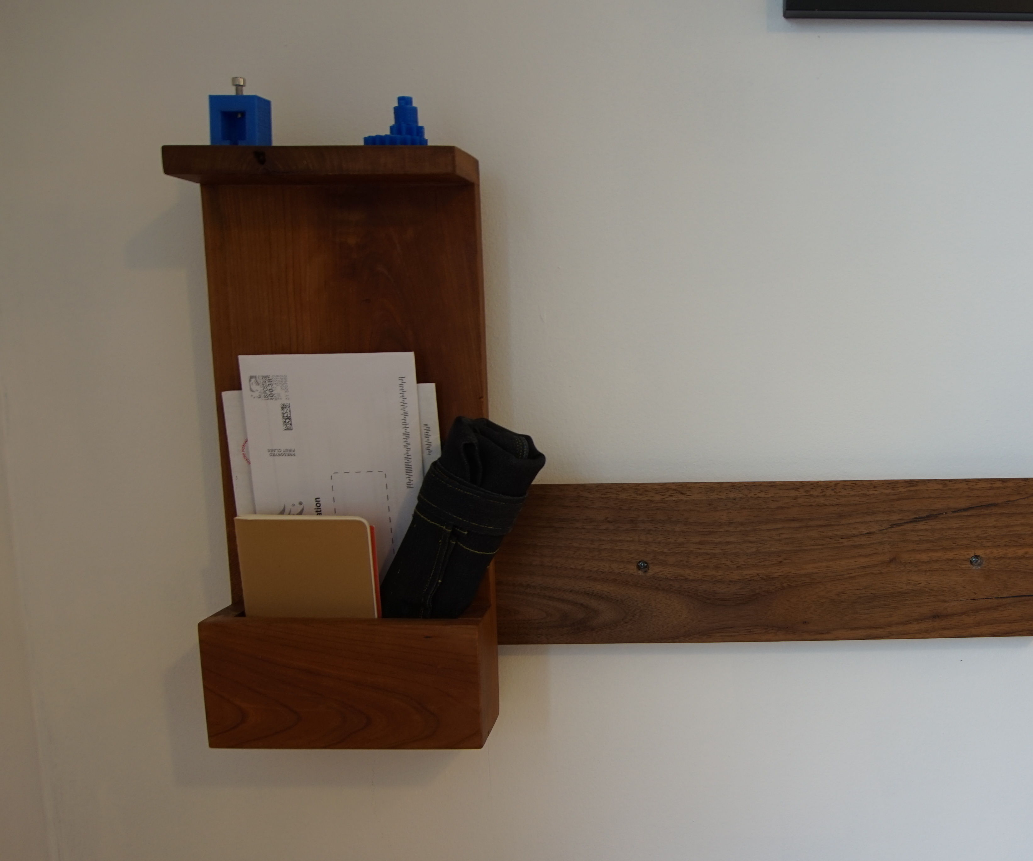 French Cleat Desk Org