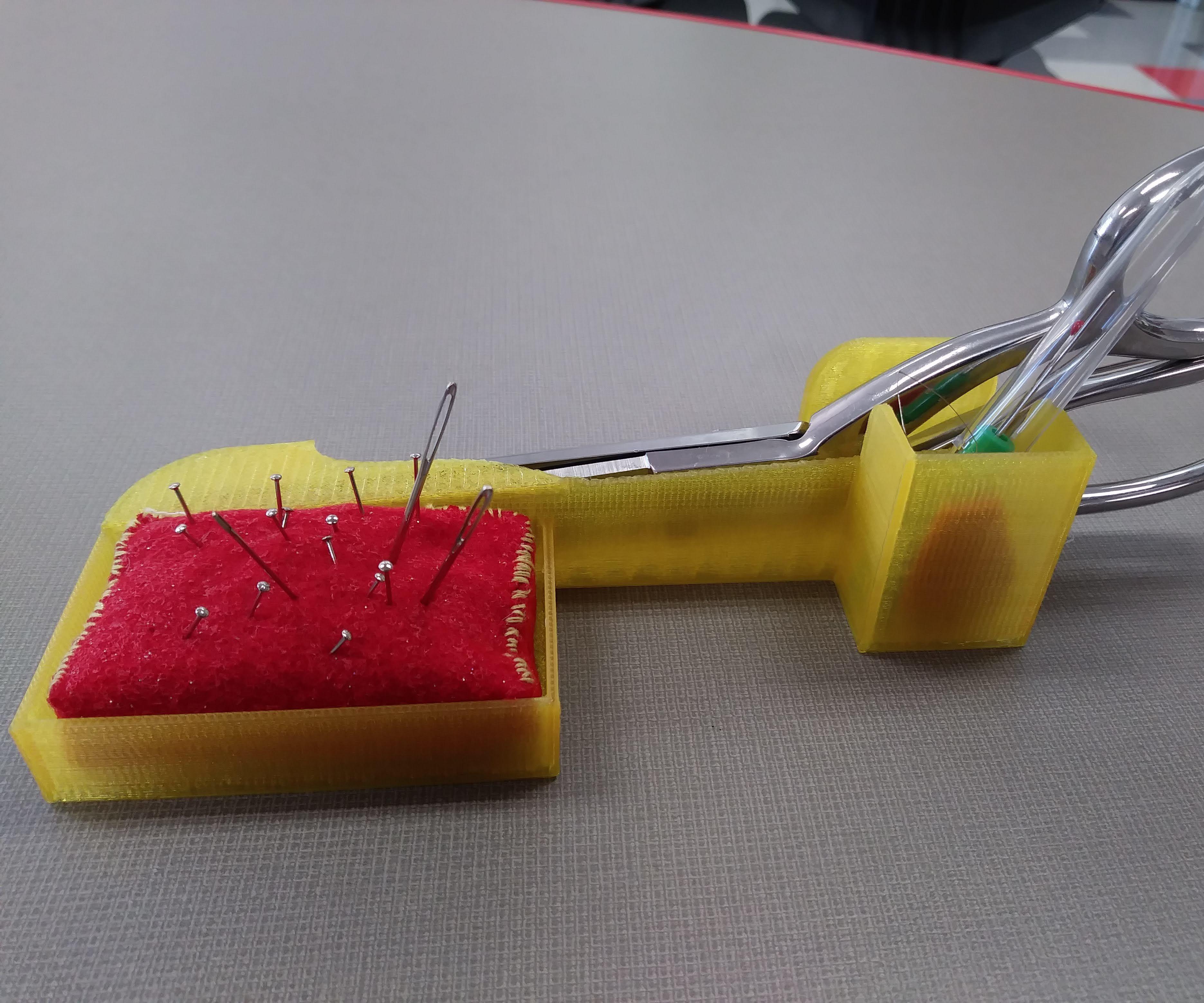 3D Printed Sewing Kit