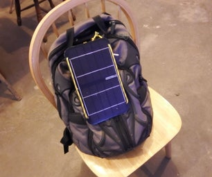 Paracord Solar USB Battery Backpack