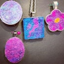 Needle Felted Pendants