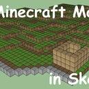 Minecraft Models in Sketch Up