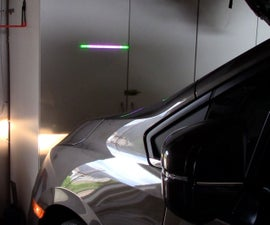Solar Powered LED Parking Sensor