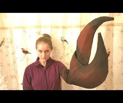 Paper Maché Claw