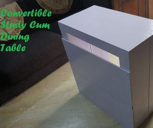 Convertible Study Cum Dining Table