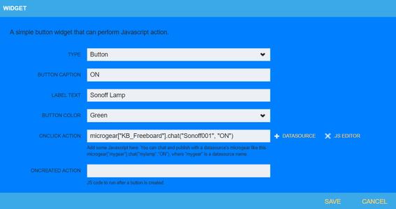 Create Netpie Freeboard