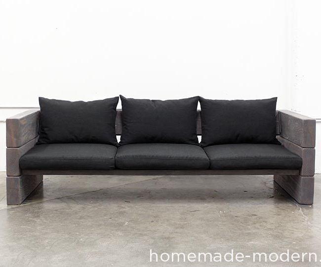 Homemade Modern Diy Outdoor Sofa 12, Diy Modern Furniture