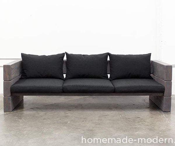 HomeMade Modern DIY Outdoor Sofa