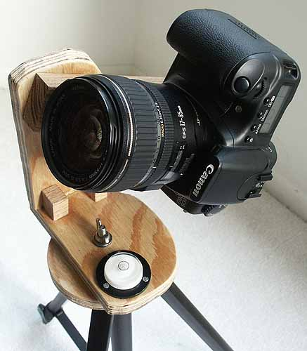 How to Build a Tripod Head for $10 that is Panoramic