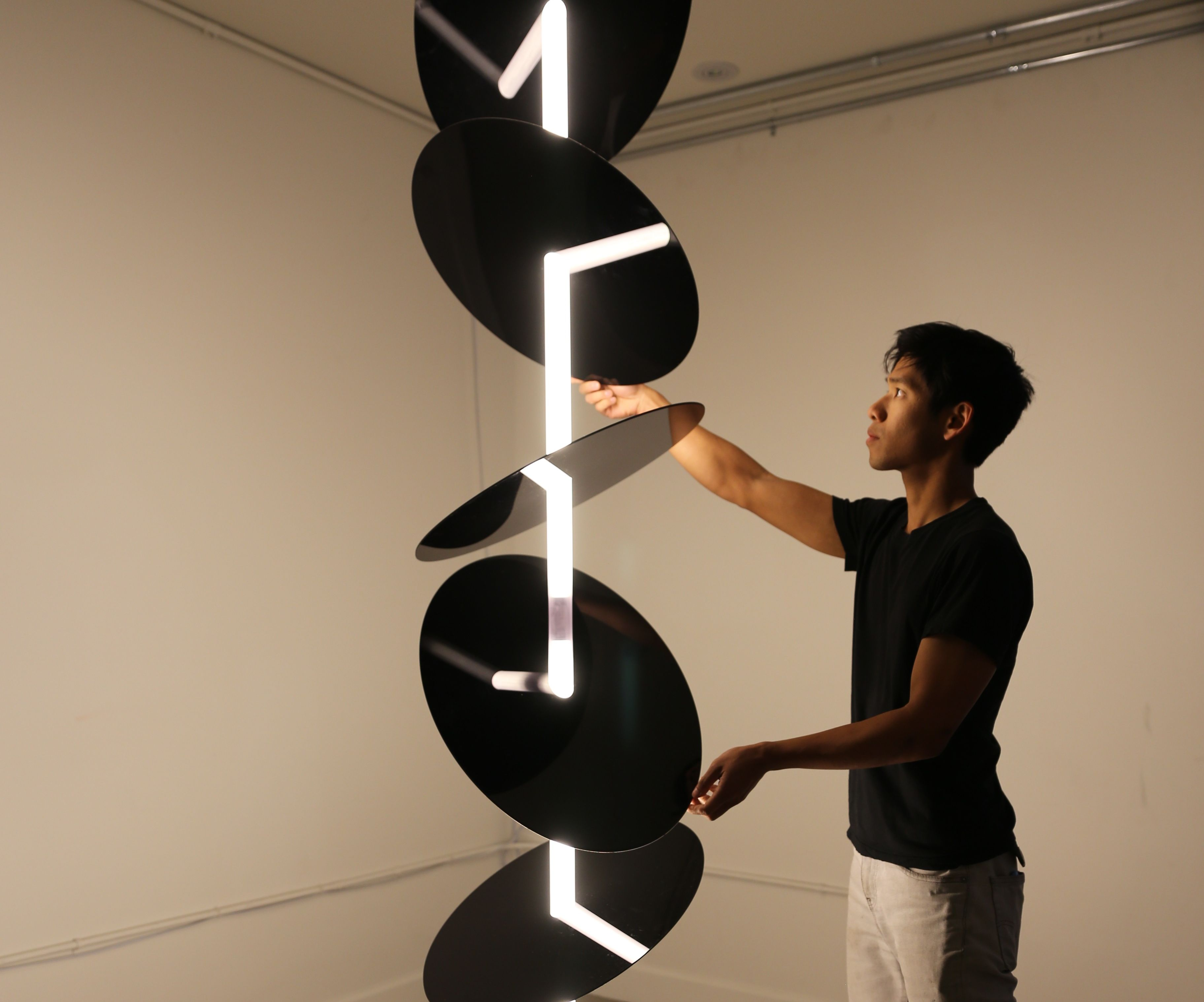 Course Through: a kinetic sculpture