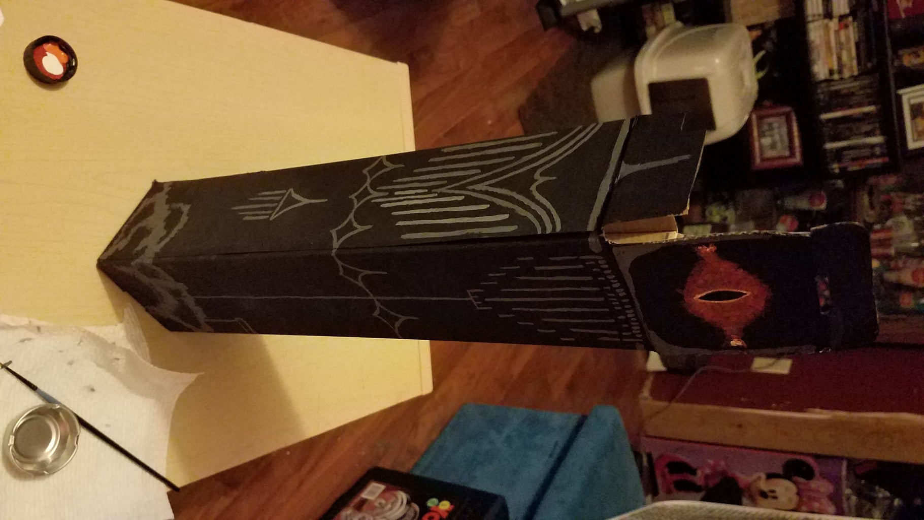 Folding Tabletop Dice Tower