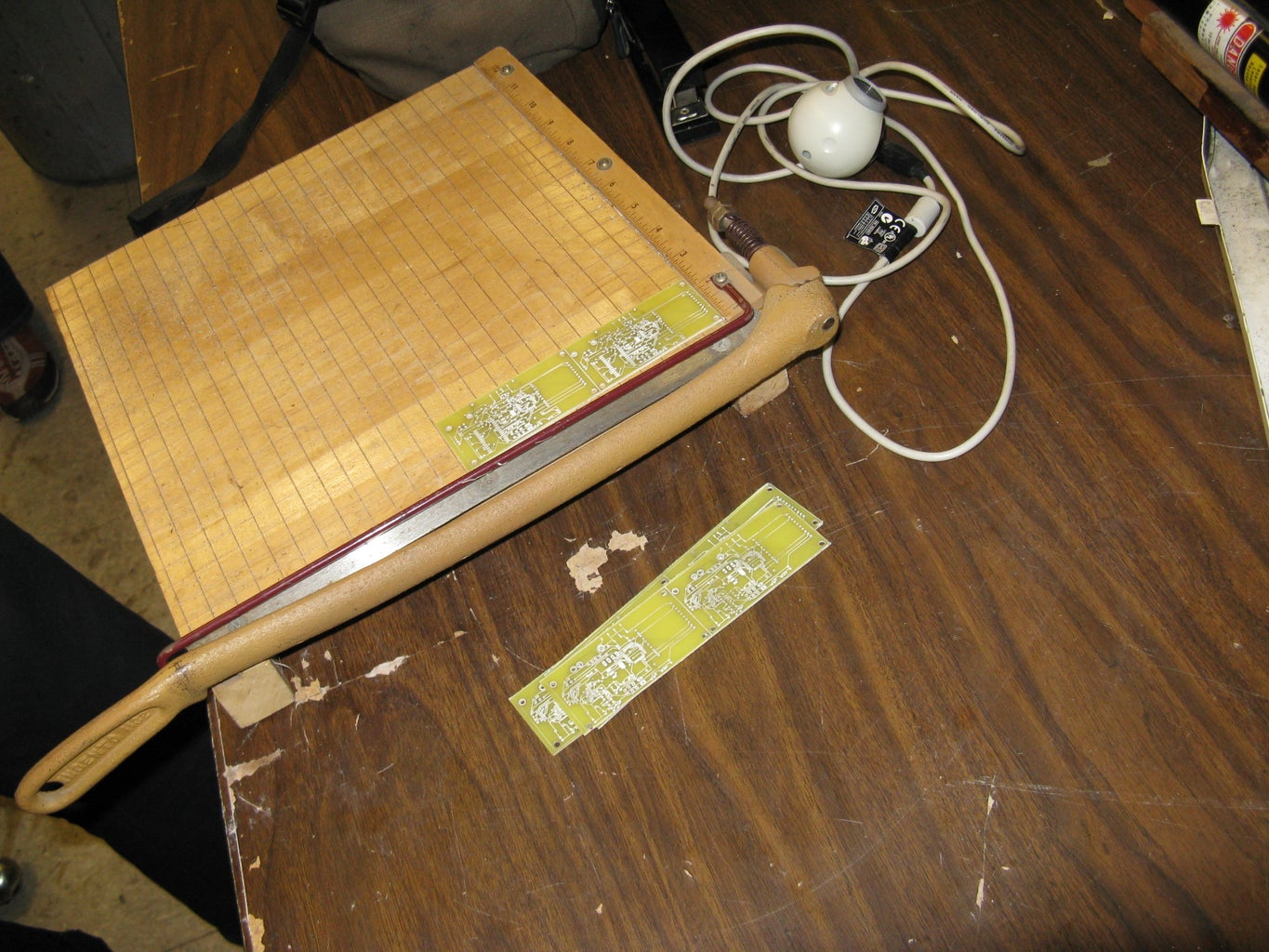 Cut Circuit Boards With a Paper Cutter