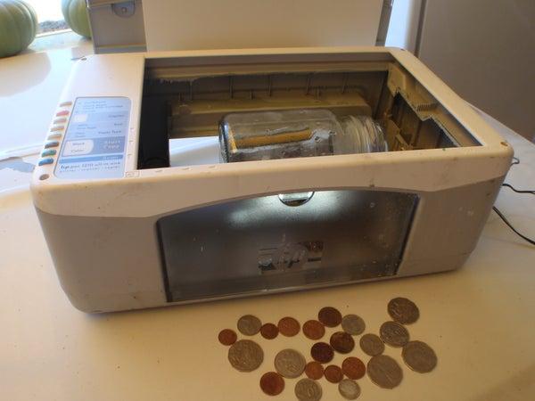 Coin Tumbler Printer Hack
