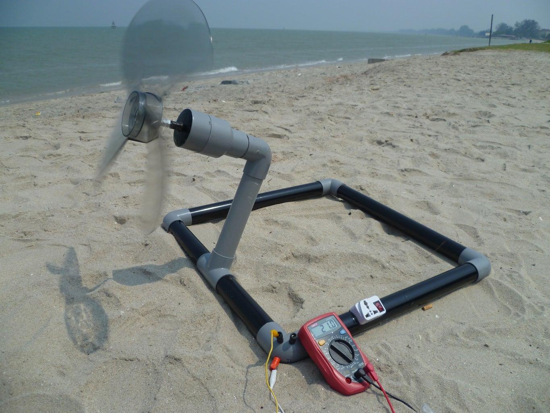 Beach Camp Turbine