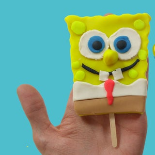 How to Make Spongebob SquarePants With Play Doh