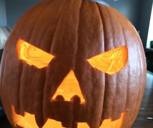 Solar-Powered Jack-o-lantern