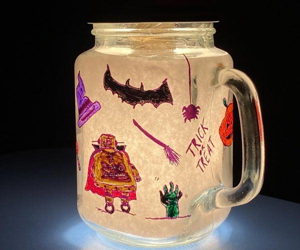 Mason Jar Night Lamp