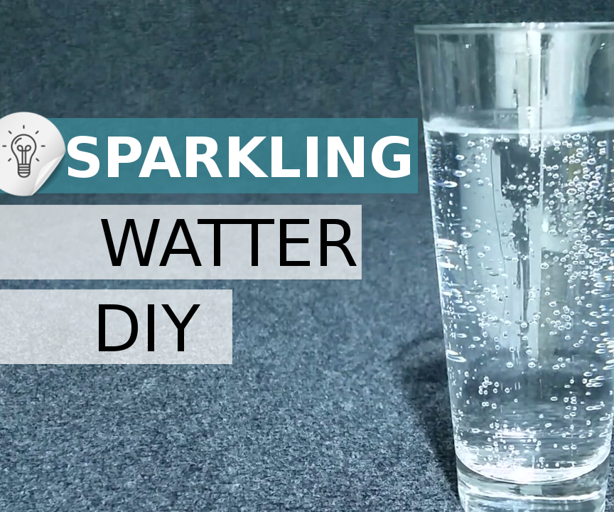 Make Co2 for Sparkling Water