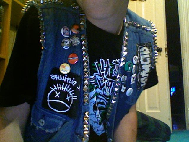 The punk vest.