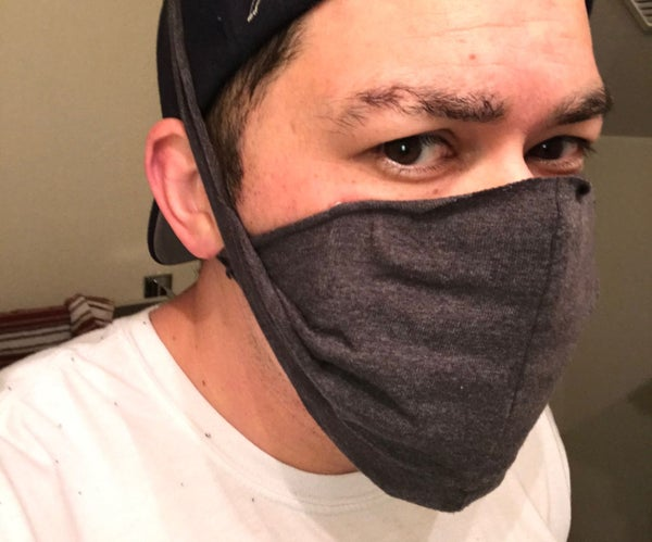Homemade Micro-particle Virus Face Mask
